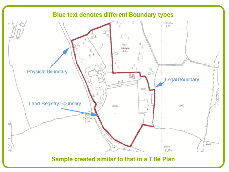 Land Boundaries Map Property Boundaries