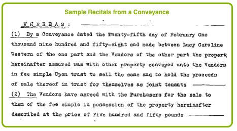 deed of conveyance template - pre registration deeds