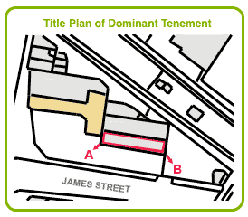 Title Plan for Dominant Tenement in Licence Agreement