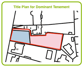 Title Plan for Dominant Tenement
